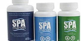 spa marvel enzyme treament for hot tub water