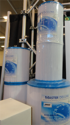 Master Deluxe hot tub spa filters online.