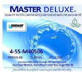Master Deluxe spa replacement filter cartridges