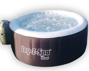 LayZSpa inflatable tub