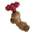 hose bib for draining hot tub
