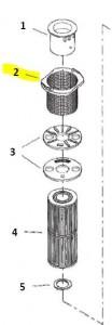 Filter Basket parts