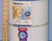 Pleatco pwk65 filter replacement filter cartridge for sale in Canada.