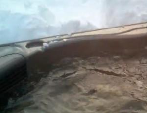 Winter Hot Tub Fun
