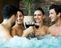 Hot Tub Winter Summer